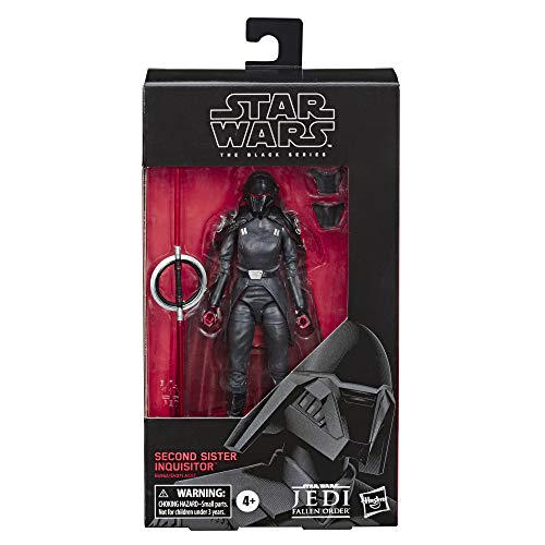 Star Wars The Black Series S Sister Inquisitor Toy 6' Scale Jedi: Fallen Order Collectible Action Figure, Ages 4 & Up