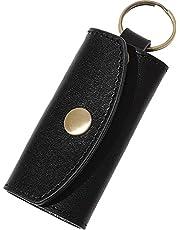 BLUE SINCERE イタリア革職人監修 mini キーケース メンズ 本革 イタリアンレザー 鍵3本+スマートキー対応 コンパクト スリム スマート ミニ 小さいサイズ / IKC2