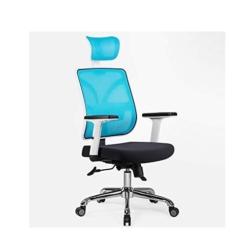 HOLPPO-Desk Stuhl-Ineinander greifen High Back Swivel Bürostuhl Multifunktionskopfstütze bewegen Lendenwirbelstütze Start Drehstuhl verstellbare Armlehne Bearing Gewicht 200kg Schreibtisch Stühle
