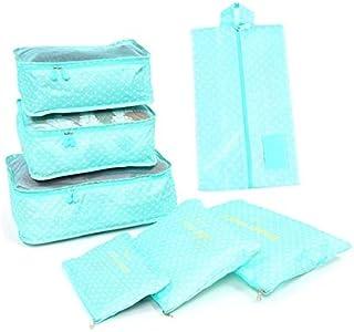 7Pcs/set Trip Luggage Organizer Clothes Finishing Kit Storage Bag Cosmetic toiletrie Storage Bag Home Travel Accessories- ...