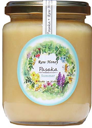 『【北欧産】Pasaka 生はちみつ 300g 天然非加熱 自然保護地区 百花種の蜂蜜 夏の季節』の1枚目の画像