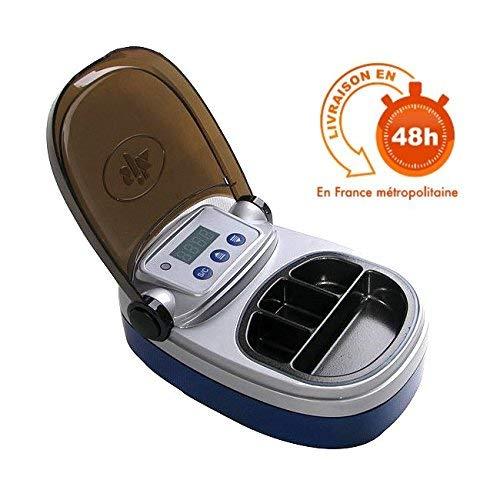 SJK Calentador de Cera de 4 cajas Digital por Inmersión para Laboratorio Dental de Athenadental