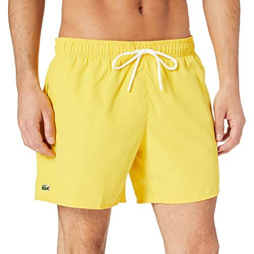 Lacoste MH6270 Pantalones Cortos, Anthemis/Vert, L para Hombre