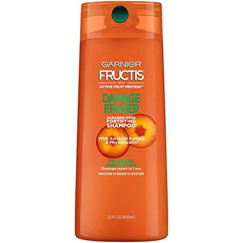 Garnier Fructis Damage Eraser Shampoo, Distressed, Damaged Hair, 22 fl. oz.