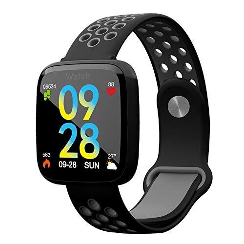 GWX Sport-tracker, stappenteller, intelligent, waterdicht, voor bewaking van de bloeddruk met hartslagmonitor, Bluetooth