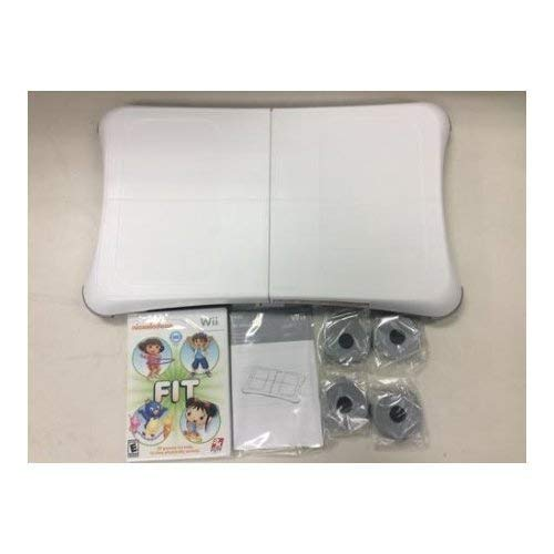 Wii Fit Balance Board - Nickelodeon Wii Fit Game INCLUDED for Nintendo Wii (Bulk Packaging) (Renewed)