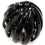 harlm002nnnbk ヘアアクセサリー 髪飾り (リトルムーン) ヘアリング マルチクリップ(スクリューボール) ブラック
