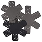 Pots and Pans Cookware Dividing Protectors Set of 3 Different Size,Prevents Scratching and Chipping