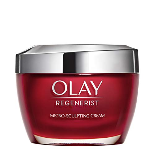 419fv5Dc6bL - Face Moisturizer with Collagen Peptides by Olay Regenerist Micro-Sculpting Cream 1.7 oz, 2 Month Supply