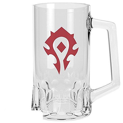 World of Warcraft - Jarra de Cerveza (500 ml), diseño con Logo