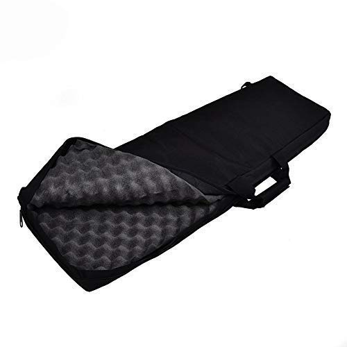 Fouos Military Airsoft Rifle Case Tactical Long Rifle Gun Bag Protection for Hunting Sniper,34 Inch (Black)