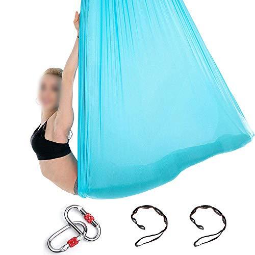 Anjing Yoga-Hängematte, 5 m lang, 3 m breit, mit Gänseblümchen-Anhänger