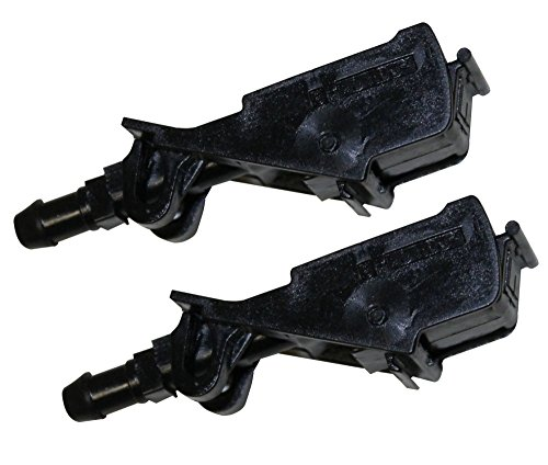 AERZETIX: Boquillas de limpiaparabrisas frente para coche C10139