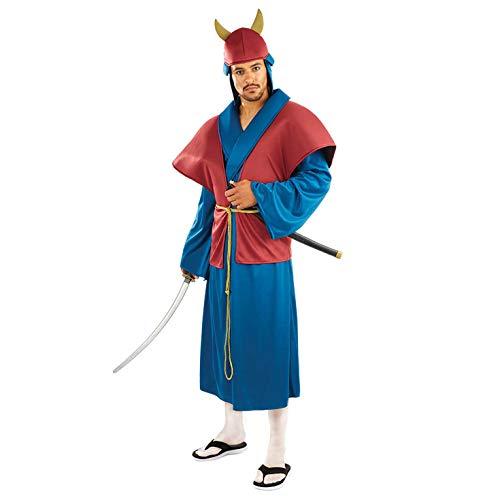 Fun Shack Azul Samurái Disfraz para Hombres - XL