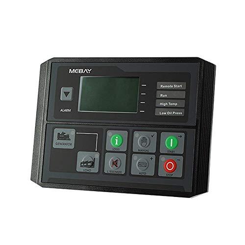 Fácil de instalar Diesel Controlador grupo electrógeno, Panel de Control de Protección Cuatro de arranque automático