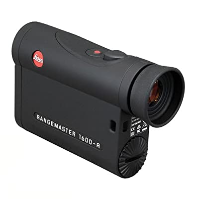 40537 Leica Sport Optics, RangeMaster Laser Rangefinder, CRF 1600-R, 7X, black from Green Supply