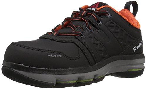 Reebok Work Men's Dmx Flex Work RB3602 Industrial and Construction Shoe, Black, 13 W US