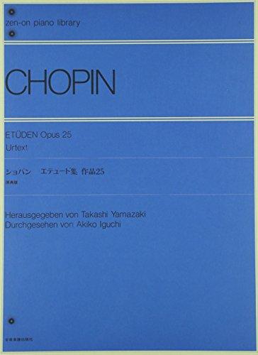 Etudes: Urtext. op. 25. Klavier. (zen-on piano library)