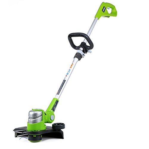 Best Prices! Greenworks 12-Inch 24V Cordless String Trimmer/Edger , Battery Not Included 2100302