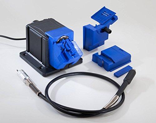 Elektro-Universal-Schärfstation 65W mit flexibler Welle + 3 Schleifstifte GRATIS dazu