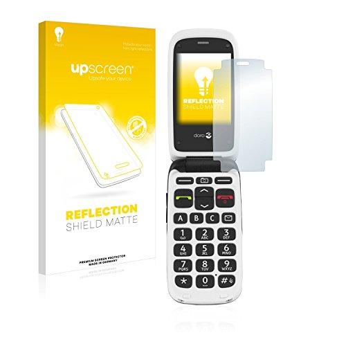 upscreen Entspiegelungs-Schutzfolie kompatibel mit Doro PhoneEasy 612 – Anti-Reflex Bildschirmschutz-Folie Matt