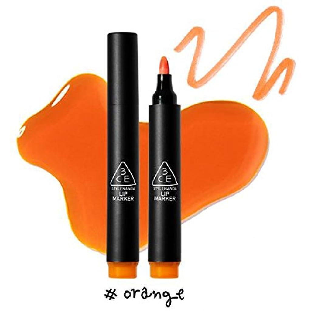主導権勝つエンティティ3CE [韓国コスメ 3CE] リップマーカーティント 3CE Lip Marker 3CE (5.Orange)
