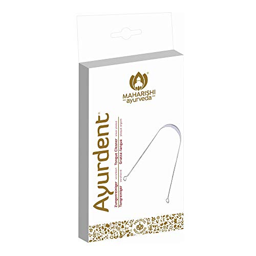 Maharishi Ayurveda - Zungen Reiniger, versilbert, 1er Pack