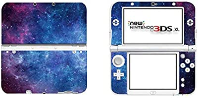 SKINOWN™ Cover Decals Skin Sticker for Nintendo New 3DS XL - Nebula