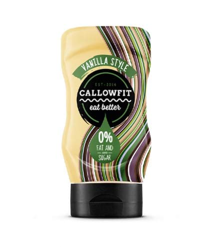 Callowfit Vanilla Sauce, 300ml