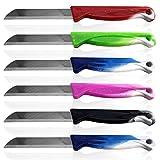 Solingen - Cuchillo Multiusos de Acero Inoxidable para Frutas y Verduras, Acero Inoxidable, carbón, 100er Set
