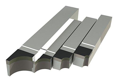 Micro 100, RAD-21, Brazed Tool Right Hand Square Shank Diameter Concave Radius