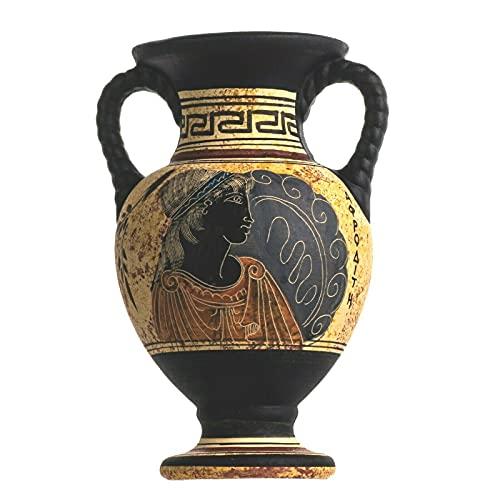 Antica Greca Minoica Anfora Afrodite In Ceramica Fatta A Mano Vaso In Ceramica