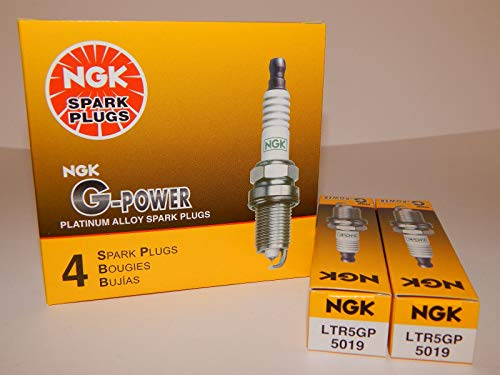 NGK # 5019 G-Power Spark Plugs LTR5GP ------ 6 PCS NEW