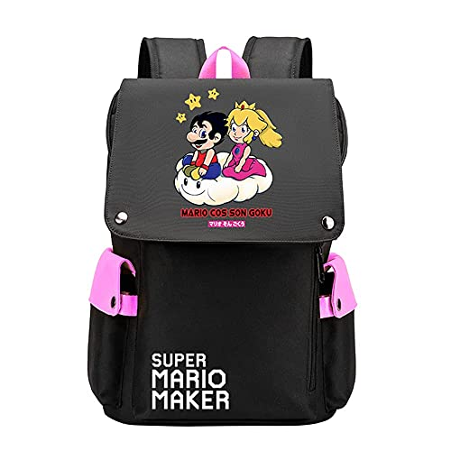 Super Mario Boys Backpack for Kids, Back to School Bag for Children with Super Mario Design, Interesting Gifts for...