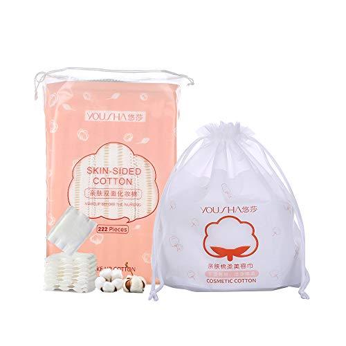 60 Stück weiche Gesichtspflegetücher Waschhandtücher Vliesstoff Kosmetik Baumwolle