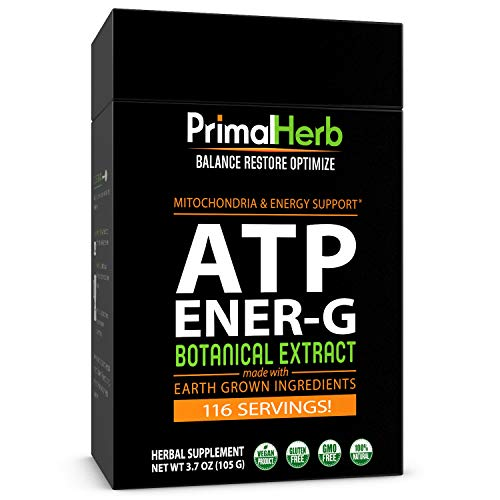 ATP, Mitochondria Energy Boost | Cistanche, Cordyceps, Siberian...