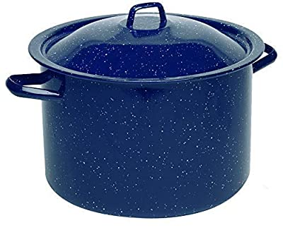 IMUSA USA Speckled Enamel Stock Pot