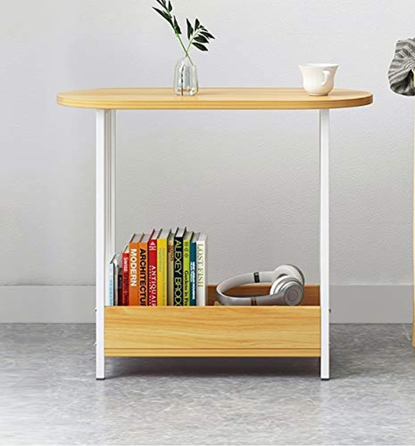 Small Bookshelf Coffee Table Simple Movable Creative Side Small Apartment Sofa Side Table Home Living Room Simple Small Table