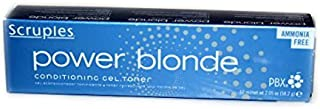 Scruples Power Blonde Conditioning Gel Toner ~STEEL~ (BlueBase) by Scruples