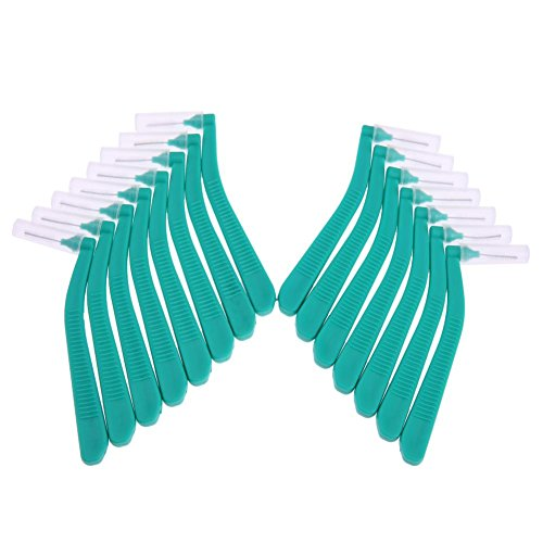 SoeHong 15 stks L Vorm Dental Floss Picks Zachte Interdentale Floss Borstels Interdentale Reiniging Orthodontische…