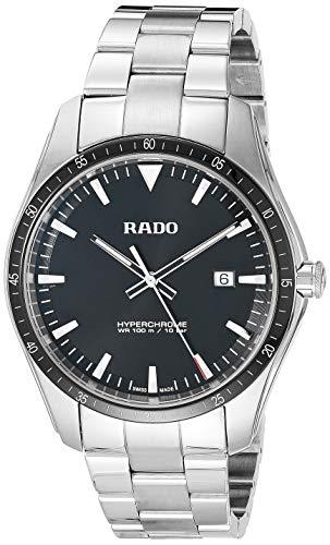 Reloj Rado HyperChrome de Hombre en Acero con Esfera Negra, Ref. R32502153.
