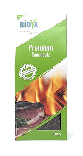 Biova Gourmetsalz Premium Rauchsalz 100 g Packung