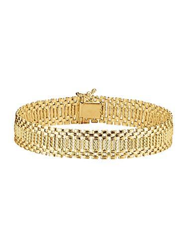 Diemer Gold Damen Armband in Gelbgoldfarben in Gelbgold 585