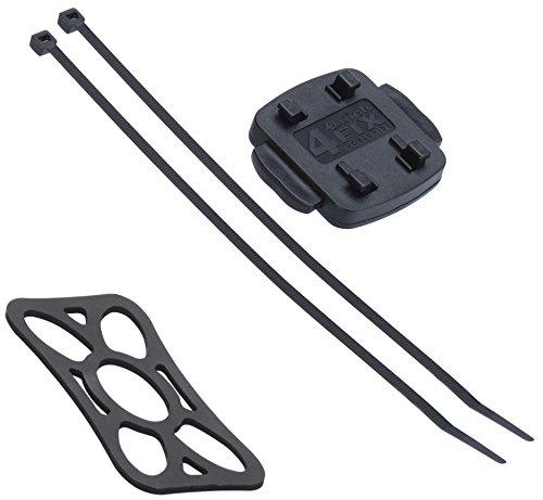 KRS- HF6 - HR Bike Mount 11 (1795/66) - Fahrradhalter für die Lenkstange mit 2 Kabelbindern für Lenker QuickFix System Falk Tiger Geo für Teasi one3 / one2 / one/Pro Pulse (HF6)