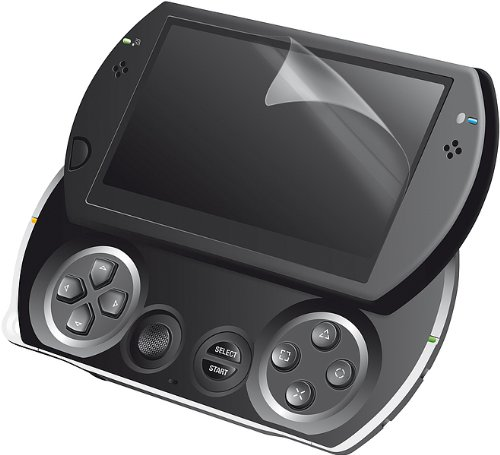 Speedlink Schutzfolie für die PSP Go (3er Pack, Mikrofasertuch beiliegend)