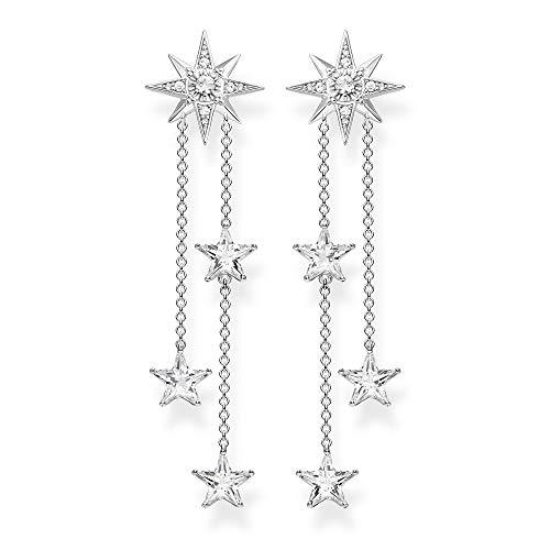 Thomas Sabo Damen-Ohrringe Sterne silber 925 Sterlingsilber H2084-051-14