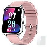 Reloj Inteligente Mujer 1.69''Smartwatch con Pulsómetro Podómetro Smartwatch Mujer Monitor de...