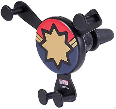 MINISO Marvel Car Phone Mount Air Vent Cell Phone Holder Fit 4 6 5 Device Clamp Cradle Compatible product image