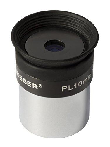 Bresser Ocular Plössl de 10 mm (31,7 mm 1,25 Pulgadas, diseño de 4 Lentes con Revestimiento Multicapa)