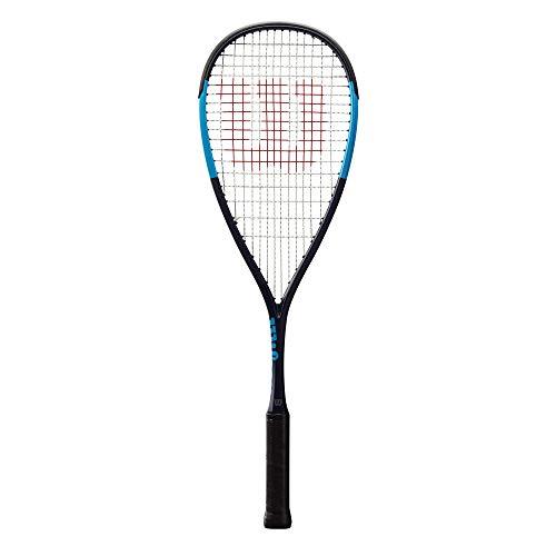 Wilson WRT910230 Raquette de Squash, Ultra CV, Unisexe, Équilibre en Tête, Bleu